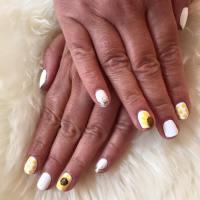 88 Amazing Sunflower Nail Art Design For This Summer 2017 ...