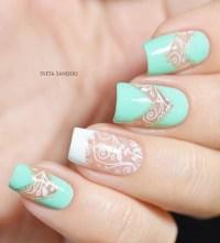 47 Fabulous Negative Space Nail Art Design For Elegant ...