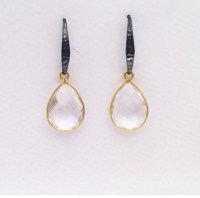 55 Simple and Elegant Drop Earrings To Complete A ...