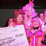 We presented Metropolitan Center for Women & Children a check for $22,000