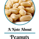 A Note About Peanuts