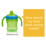 What Should Your Baby Drink?