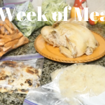 A Week of Meals (Video, Recipes, Shopping List)