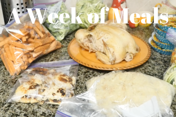A Week of Meals