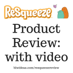 Product Review: ReSqueeze Reusable Food Pouch