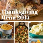 Our Thanksgiving Menu