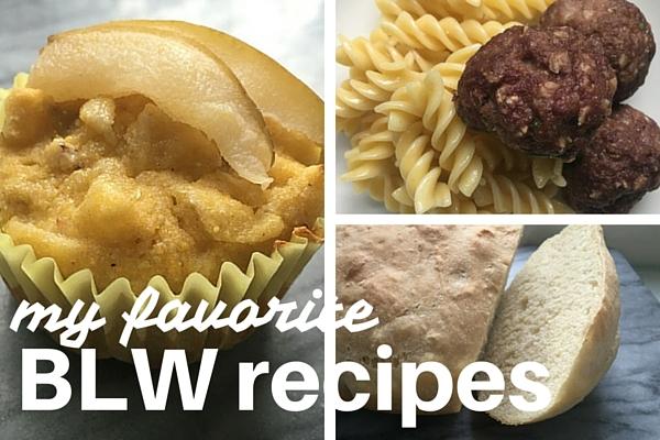 guest post favorite blw recipes