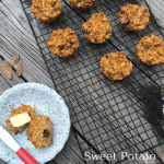 Sweet Potato Apple Raisin Oat Muffins (6 months+)