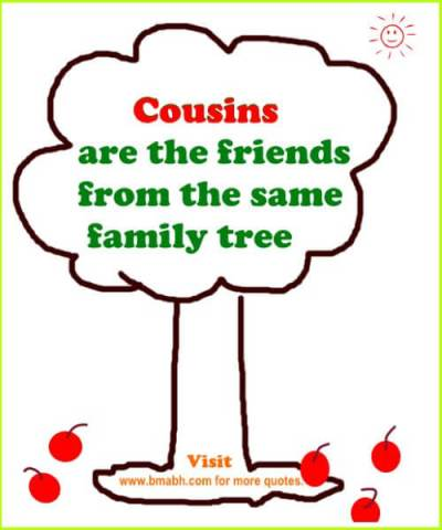 Best cousin quotes and sayings with beautiful pictures on www bmabh