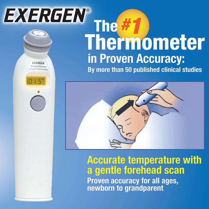 Exergen Temporal Artery Thermometer ,Item #698455 My online store