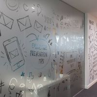 Frosted Vinyl For Glass | Frosted Sticker Dubai | Glass ...