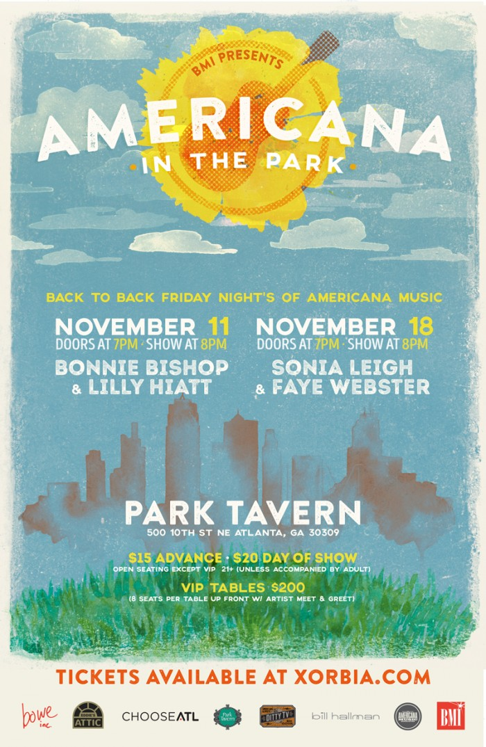 BMI Presents Americana In The Park Atlanta November 18, 2016