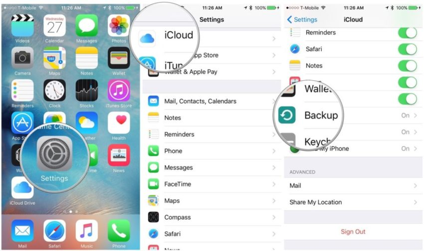How to backup iPhone/iPad to your computer using iTunes Sync