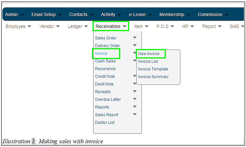 Inventory Management System Malaysia How to Make Sales with - how to make invoices