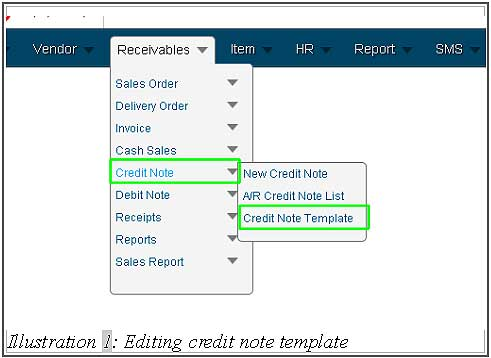 Online Inventory Management System Malaysia Control Inventory - credit note template