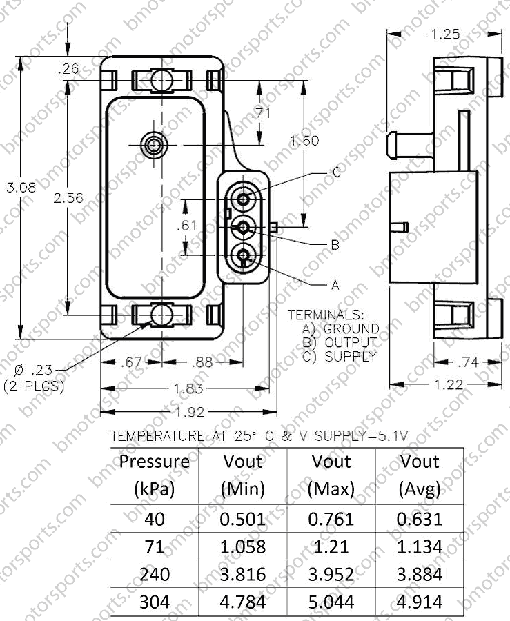 gm 3 bar map sensor wiring diagram