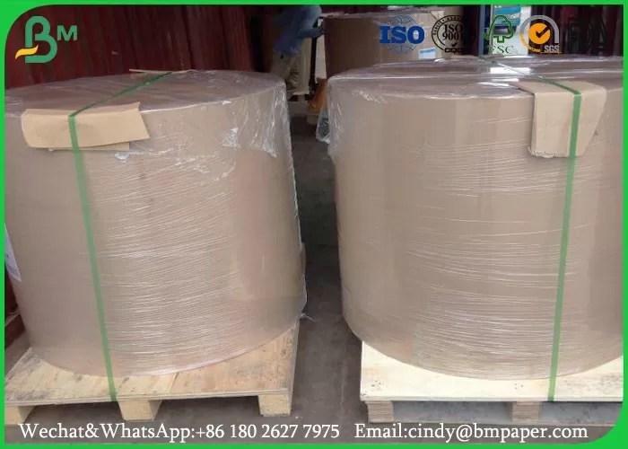 60 Gr 70 Gr 80 Gr Glossy Coated Paper 594 841mm Wood