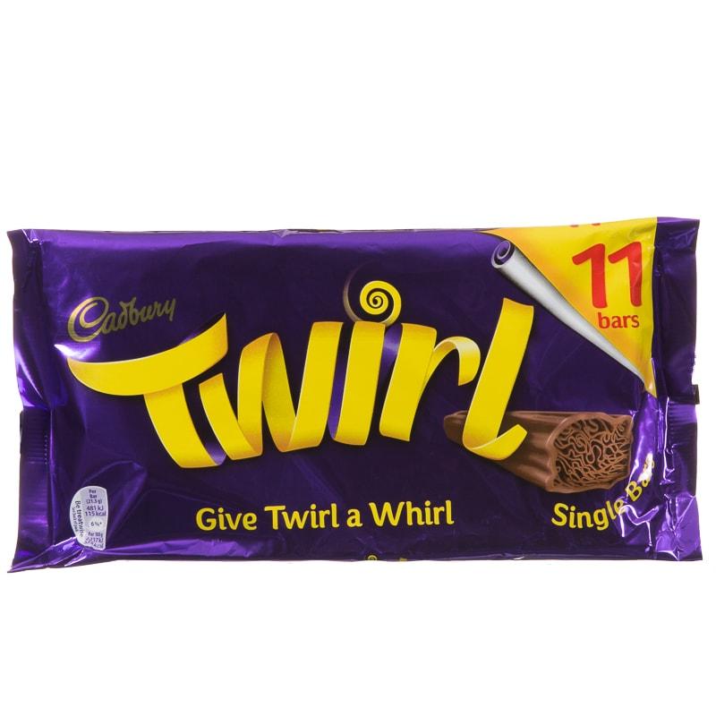 Winter Animal Wallpaper Cadbury Twirl 11pk Chocolate Bars Chocolate Multipack