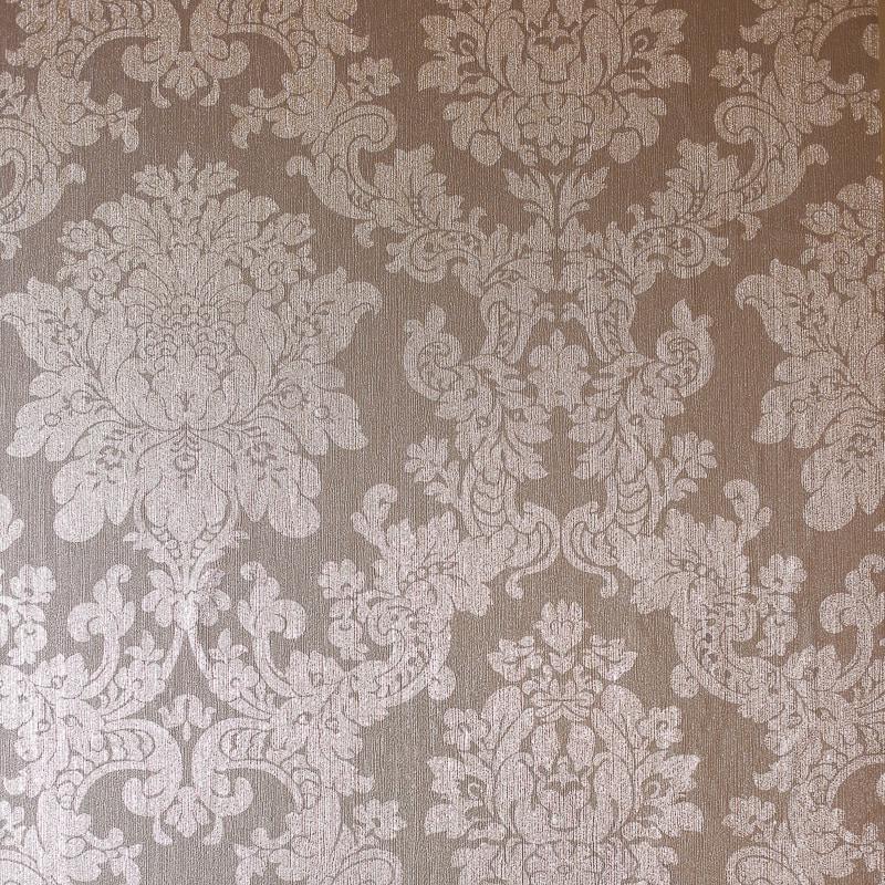Black And Cream Damask Wallpaper Velvet Damask Wallpaper Rose Gold Diy B Amp M