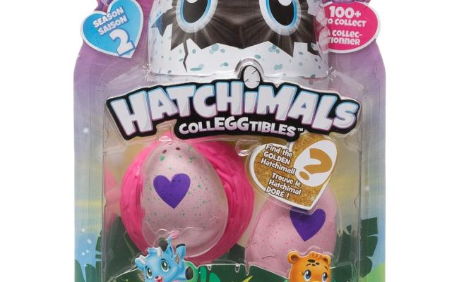 Hatchimals Colleggtibles 2pk Soft Toy Animals B M