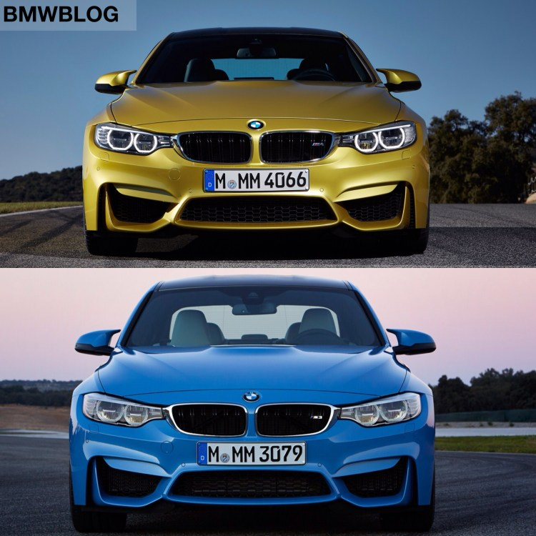 BMW M3 vs. BMW M4   Photo Comparison