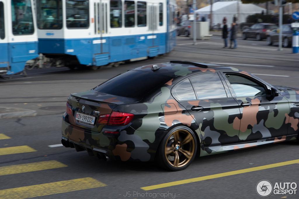 F10 BMW M5 Spotted in Camouflage BMWCoop