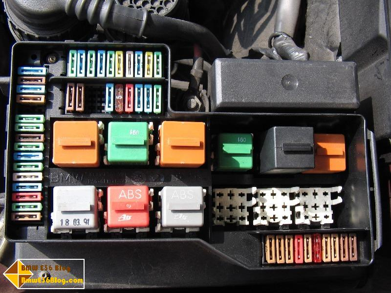 1987 Bmw Fuse And Relay Box Wiring Diagram