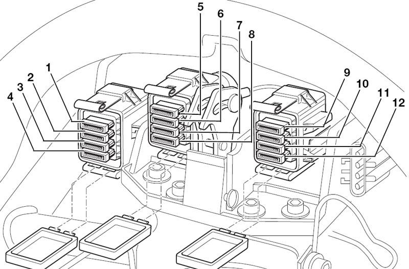 bmw k1300s fuse box location