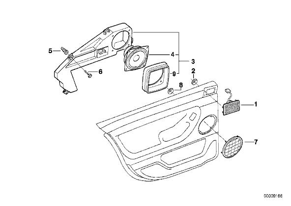 e38 wiring diagram speaker