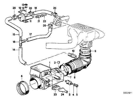 bmw idle control valve location page 5
