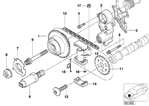 2001 chrysler 300m engine diagram