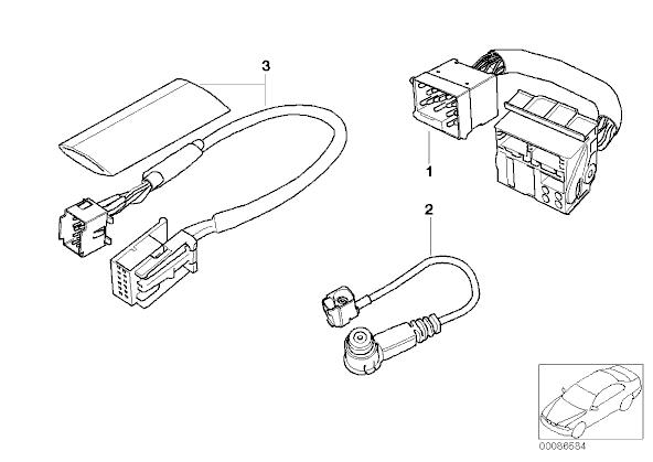 bmw aux cable schematic