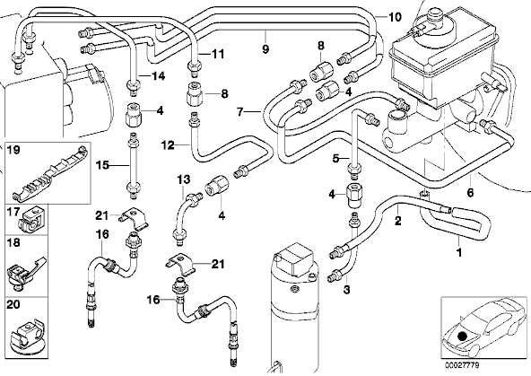 bmw x5 cooling system diagram besides bmw e39 engine diagram in