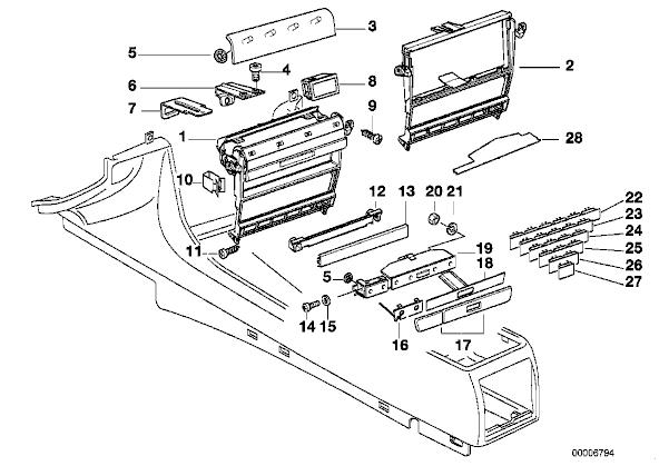 1999 bmw 740il fuse box