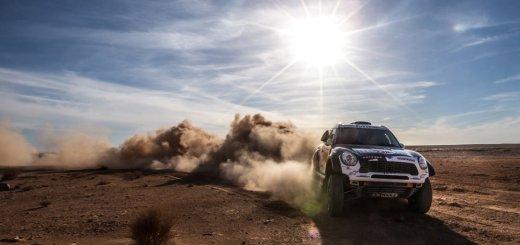MINI ALL4 Racing @ Rally Dakar 2016