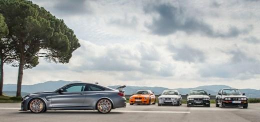 BMW M4 GTS Family Shot