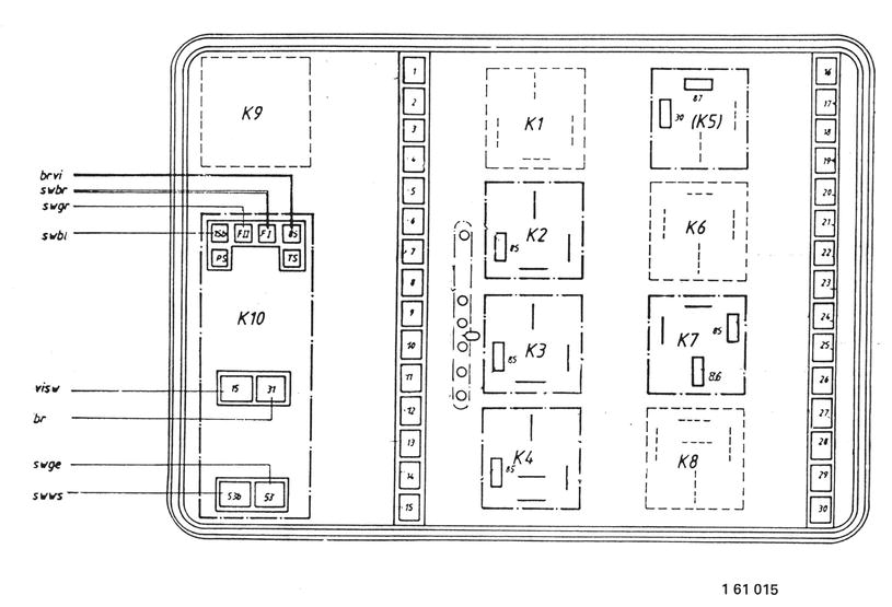 61 13 000 a - Power distribution connection plan \u003c 61 - Electrical