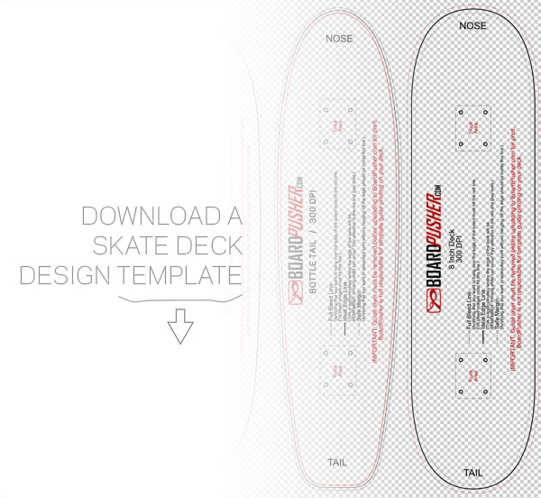 Skateboard Design Templates to Help You Create Your Own Graphic