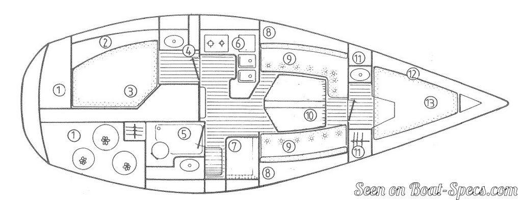 jeanneau wiring diagram
