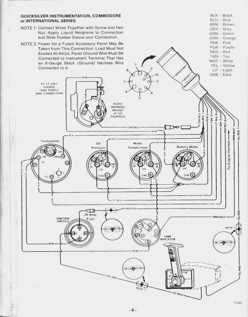 1980 mercruiser 260 wiring diagram