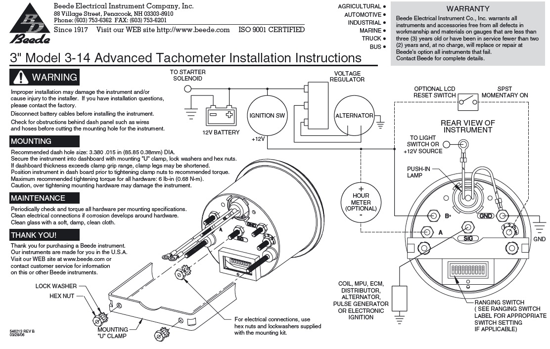 wiring diagram for boat gauges