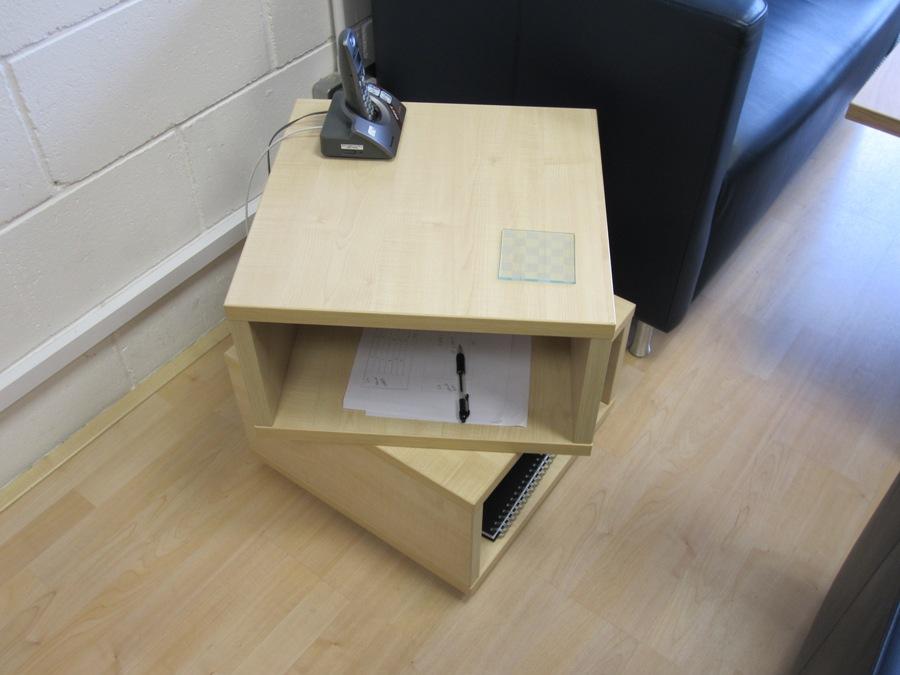 Rotating Storage Table Saffron Walden Boatman Furniture
