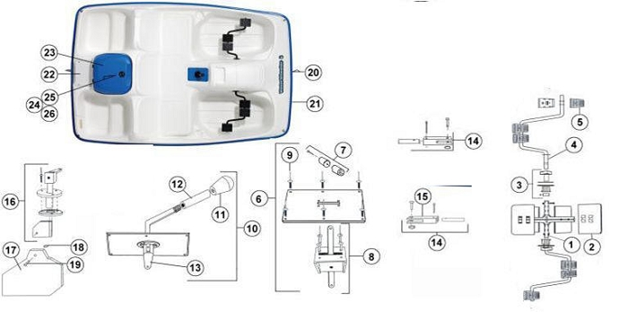 Paddle Boat Parts Diagram Online Wiring Diagram