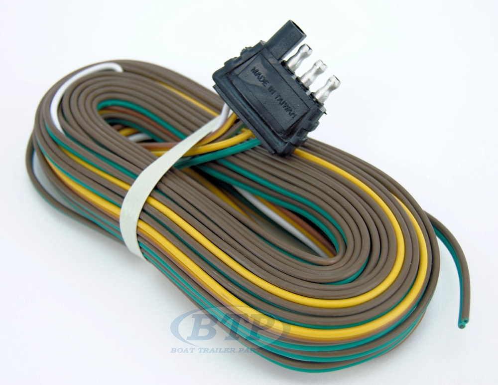 boat trailer wiring harness straps