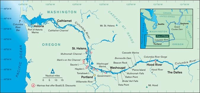 Columbia River Cruising Guide - BoatUS Magazine