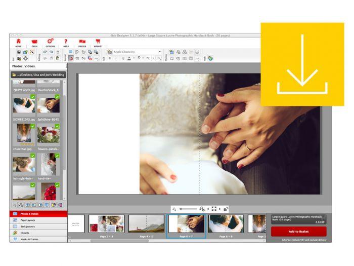 Photo Book Design Software Bob Books