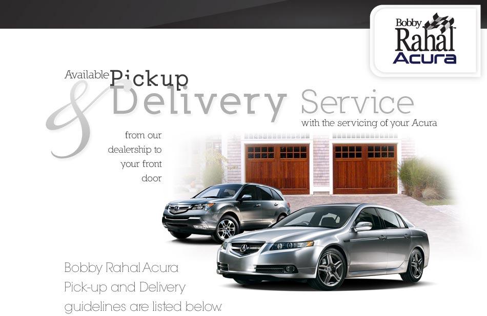 Car Delivery Service, Mechanicsburg, Harrisburg, PA - Bobby Rahal Acura