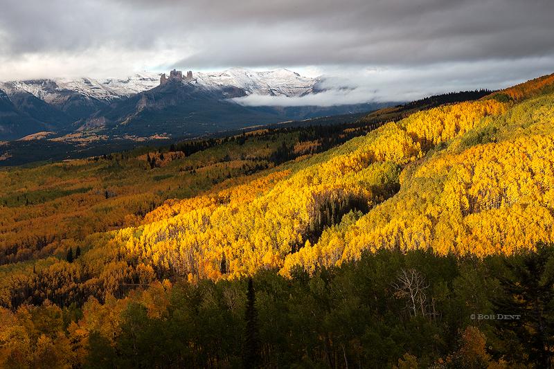 Fall Aspens Wallpaper Ohio Creek Road Gunnison National Forest Colorado
