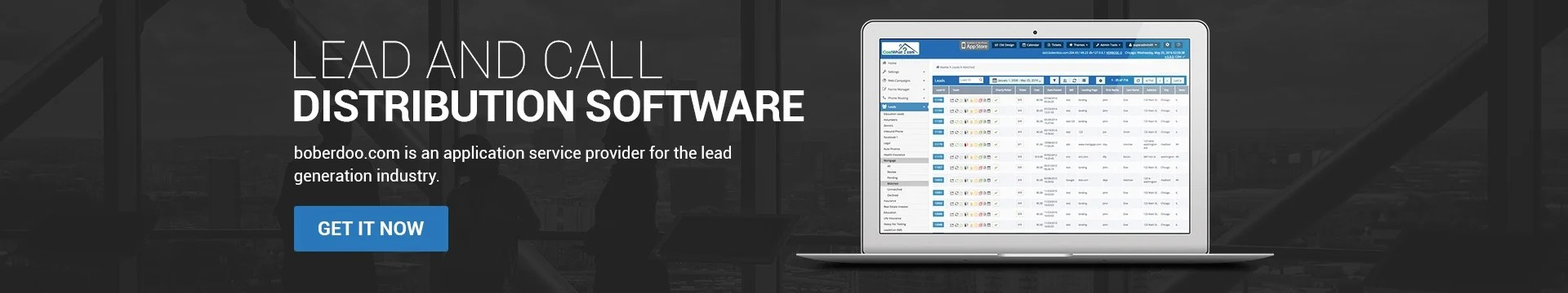 boberdoo Lead Distribution Software, Ping/Post  Call Routing