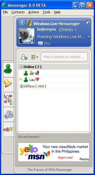 Microsoft Live Messenger (Beta)